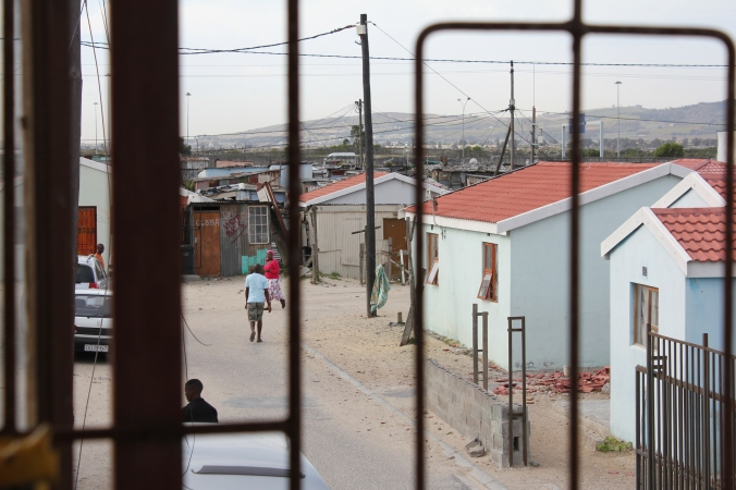 Township Kapstadt (Foto: Julia Jaroschewski)