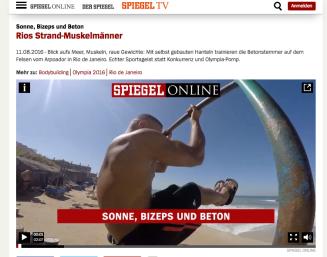 Screenshot Spiegel Online