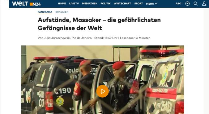 Screenshot WeltN24