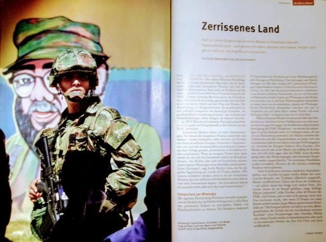 """Beitrag im """"journalist""""-Magazin"""