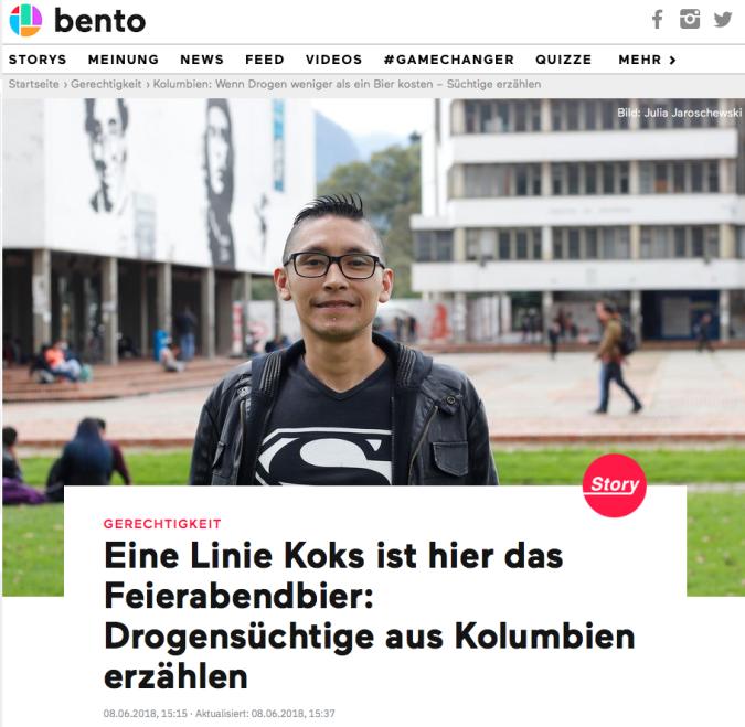 Screenshot bento.de