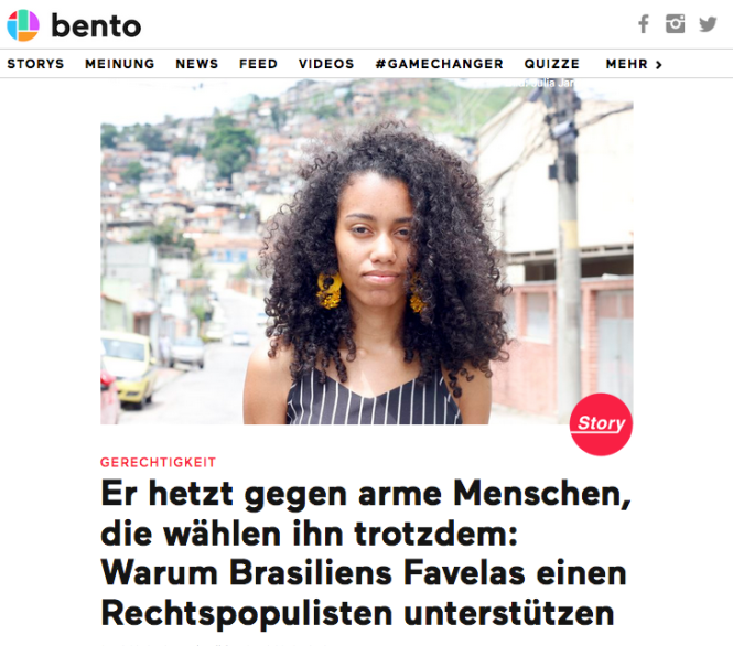 Screenshot bento.de