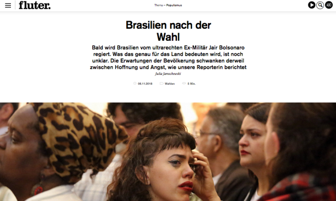 Screenshot fluter.de