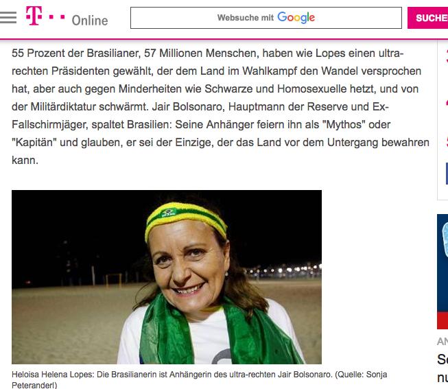 Screenshot T-Online