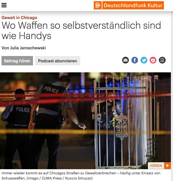 Screenshot: Deutschlandfunk